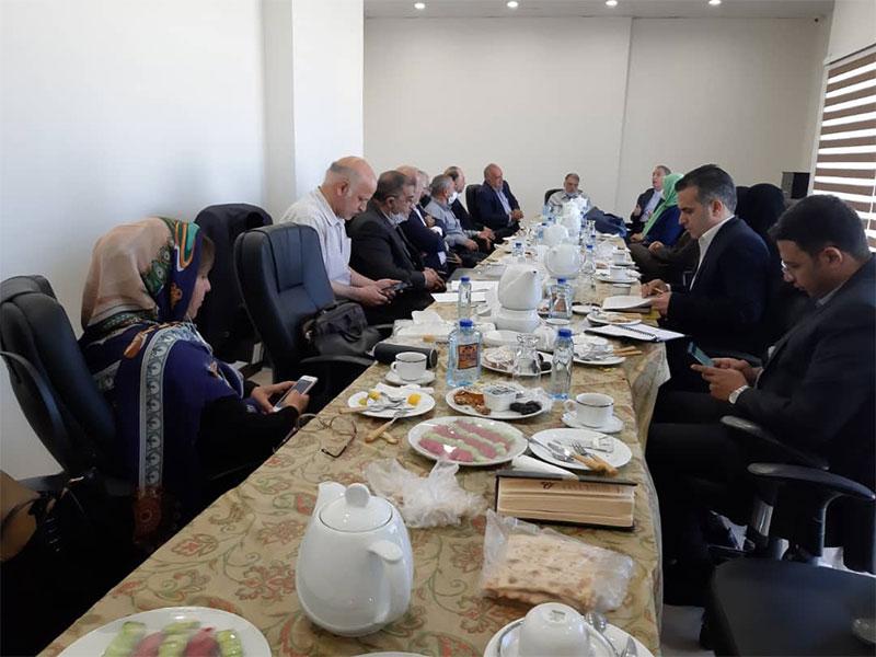 جلسه هیئت مدیره جامعه خیرین حامی معلولین کشور