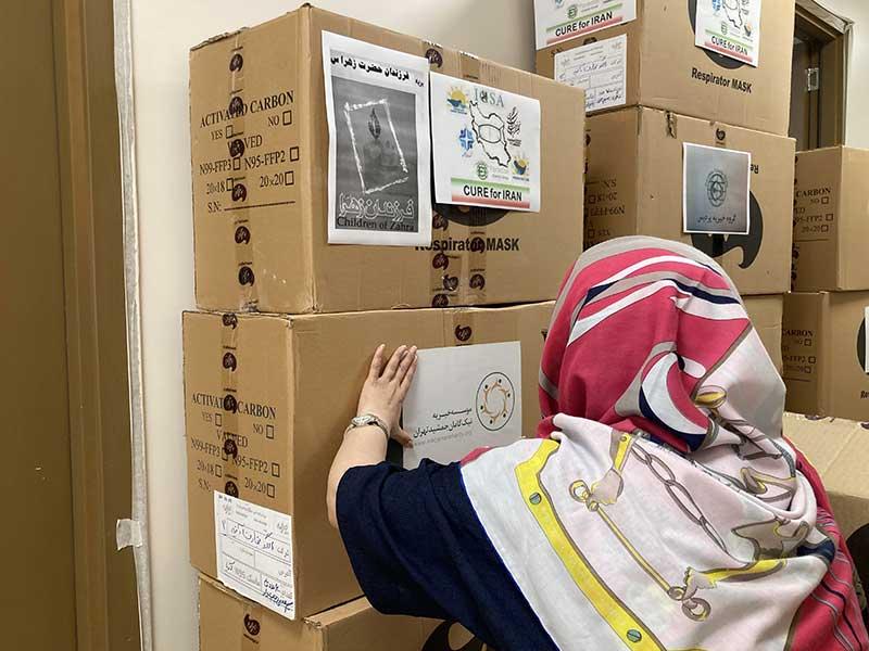 با همراهی خیرین عزیز 21 هزار ماسک N95 در اختیار کادر درمان بیمارستان ها قرار می گیرد.