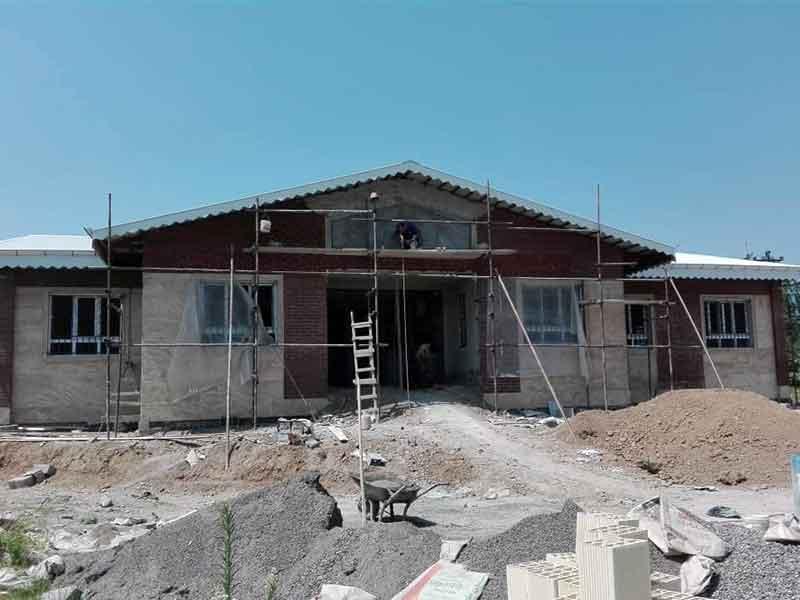 ساخت مدرسه سه کلاسه روستای حر سراوان، استان گیلان به همت موسسه خیریه نیک گامان جمشید