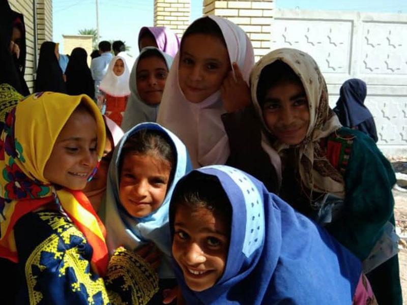 ساخت مدرسه، استان سیستان و بلوچستان، شهرستان دلگان، روستای لدی