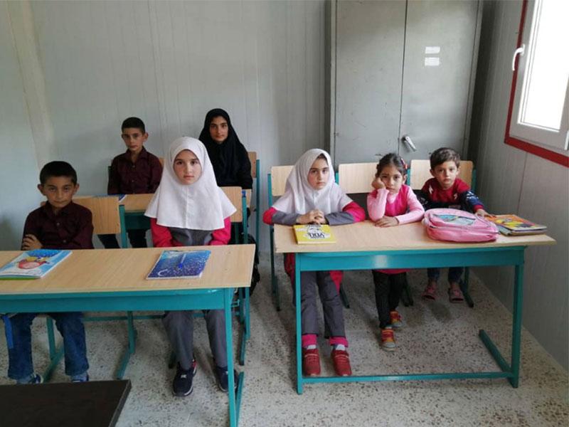 ساخت مدرسه، استان آذربایجان شرقی، شهرستان خدا آفرین، روستای عباس آباد