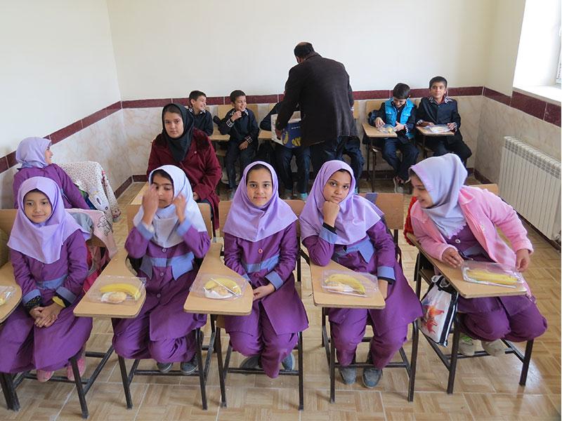 ساخت مدرسه، استان آذربایجان شرقی، شهرستان شبستر، روستای زیناب