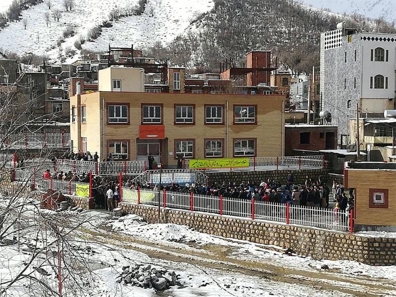 ساخت مدرسه، استان کردستان، شهرستان مریوان، روستای نی
