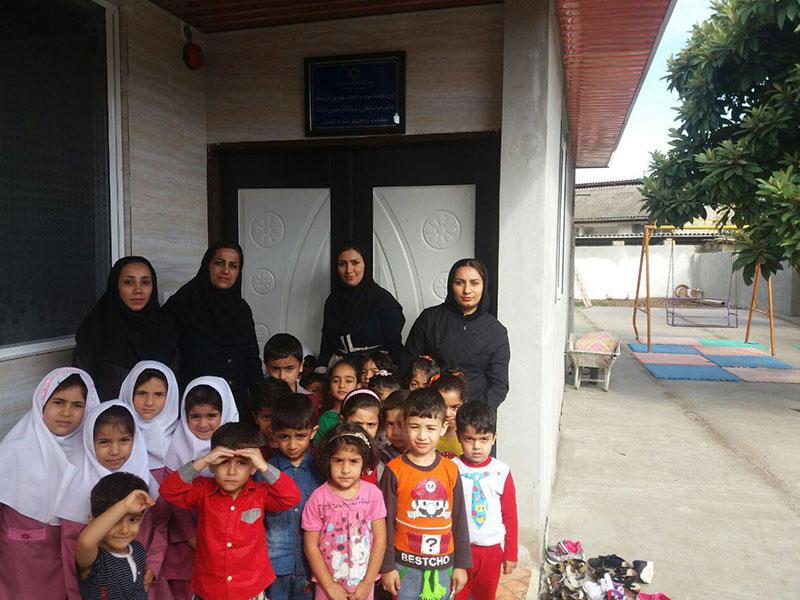 بازسازی و تجهیز روستامهد، استان مازندران، شهرستان ساری، روستای کردخیل، مهد امید فردا
