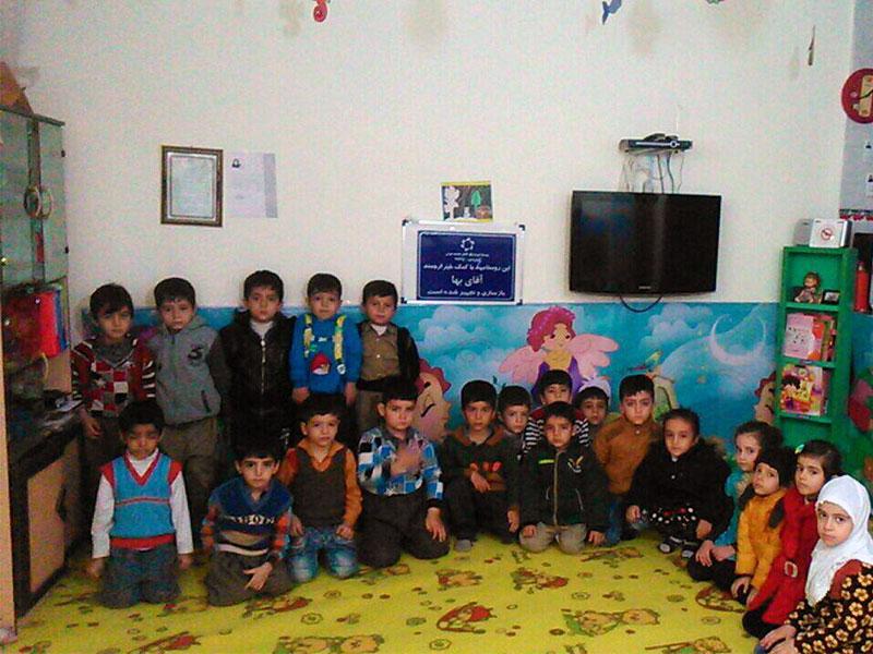 بازسازی و تجهیز روستامهد، استان کردستان، شهرستان سنندج، روستای نگل، مهد امید فردا