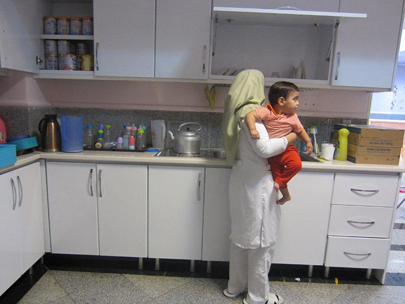 استان البرز، شهر کرج، بازسازی و تجهیز اتاق شیر نوزادان شیرخوارگاه امام علی (ع)