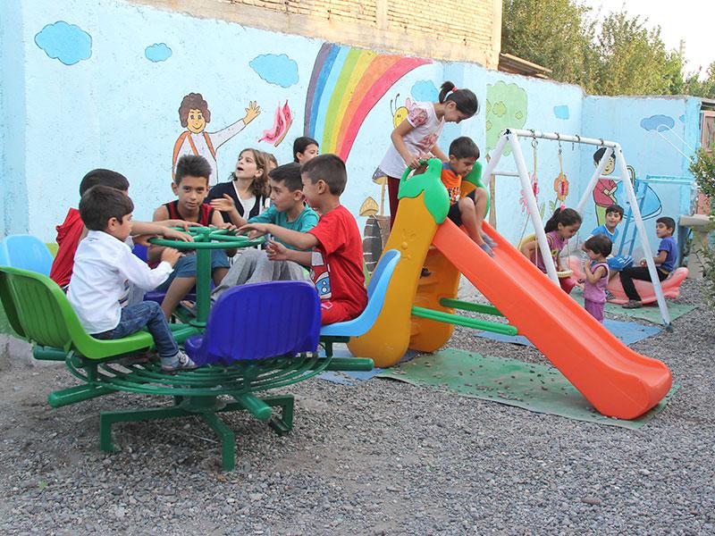 بازسازی و تجهیز روستامهد، استان اردبیل، شهرستان پارس آباد، روستای اجیرلو، مهد شادمان