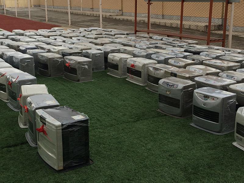 کمپین توزیع 257 دستگاه بخاری ایمن و استاندارد در روستاهای سیستان و بلوچستان