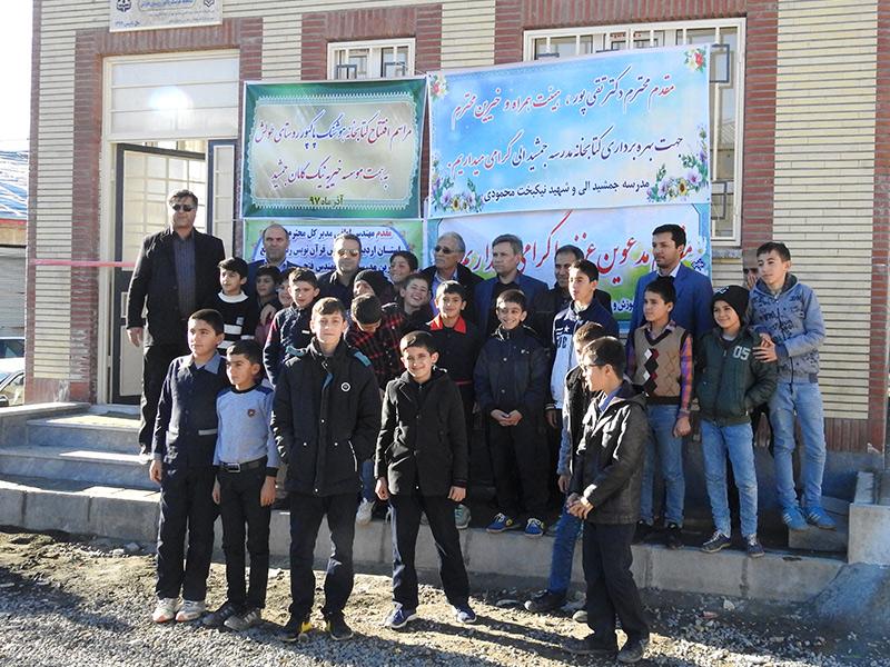 ساخت و تجهیز کتابخانه، استان اردبیل، شهرستان خلخال، روستای طولش