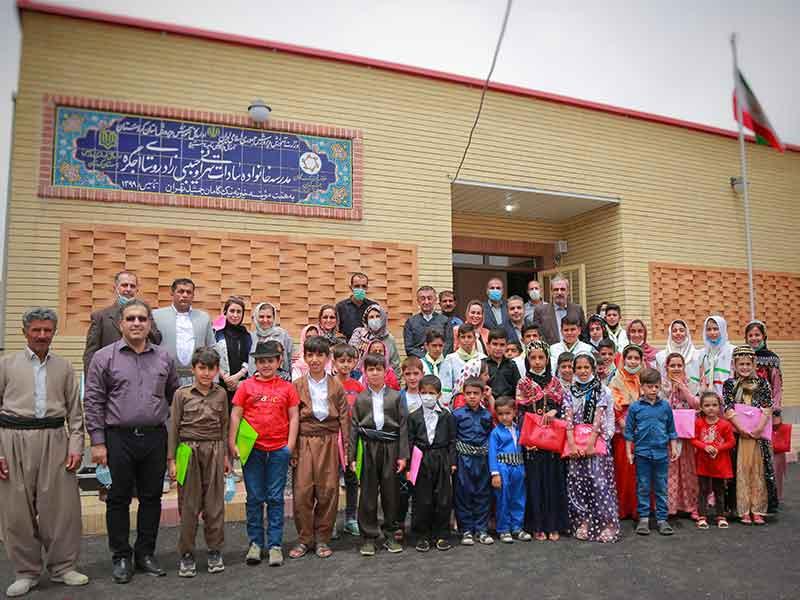 ساخت مدرسه، استان کردستان، شهرستان سنندج، روستای اجگره