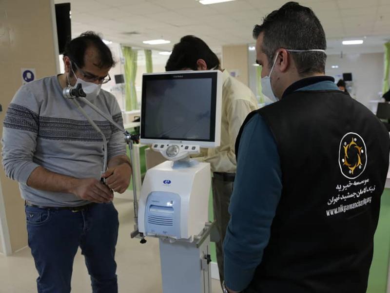 تهیه و توزیع 28 دستگاه ونتیلاتور  مورد نیاز بیمارستانها در بحران کرونا